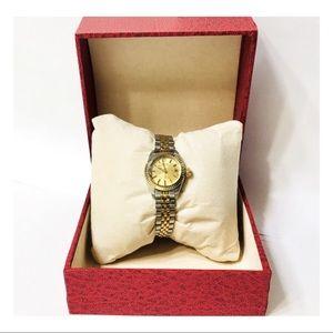 Rolex Tudor Two Tone Princess Oysterdate Watch